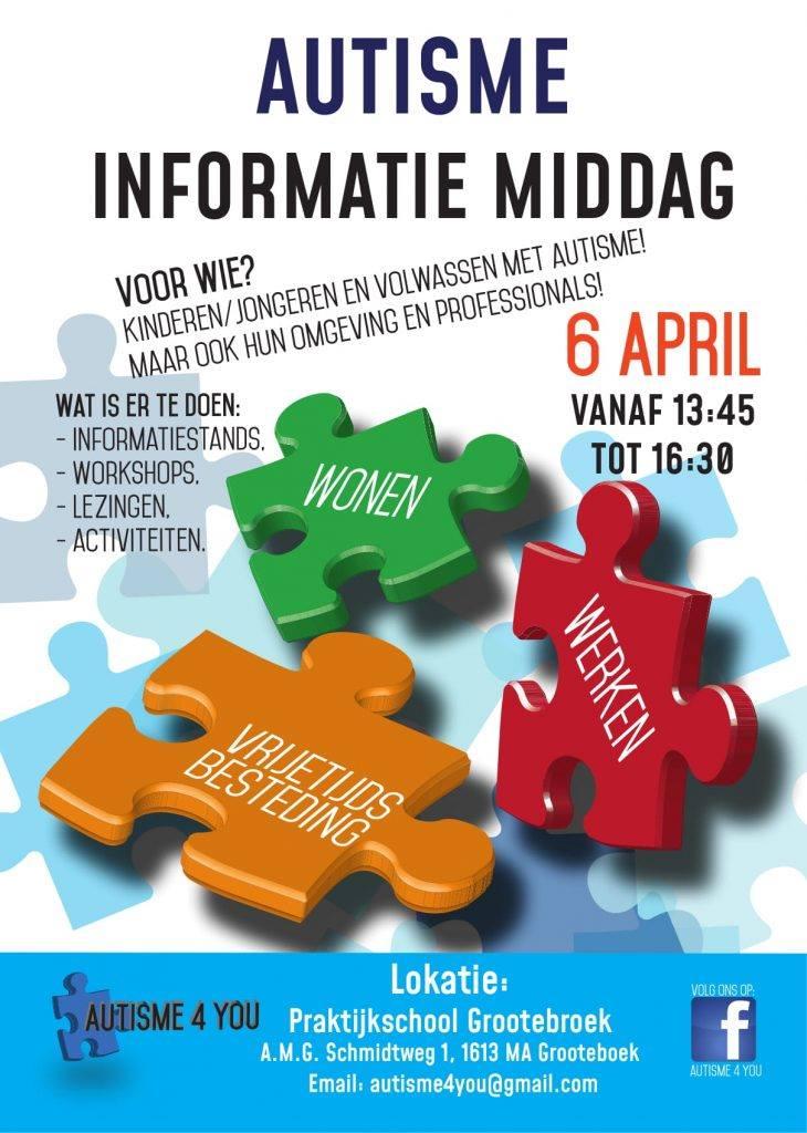 Autisme-informatiemiddag Praktijkschool Grootebroek Soci-Com
