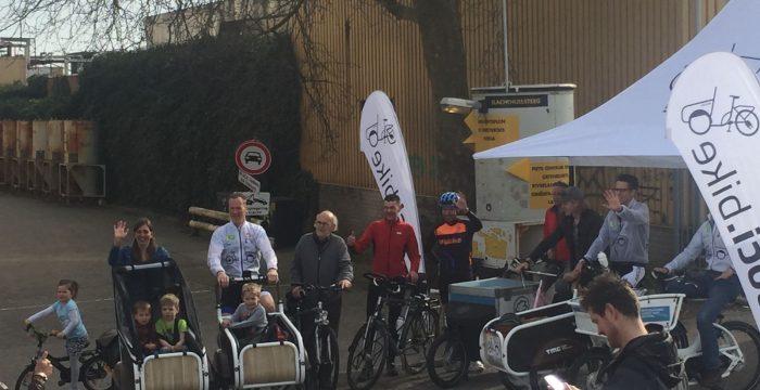 fiets met soci.bike naar groningen